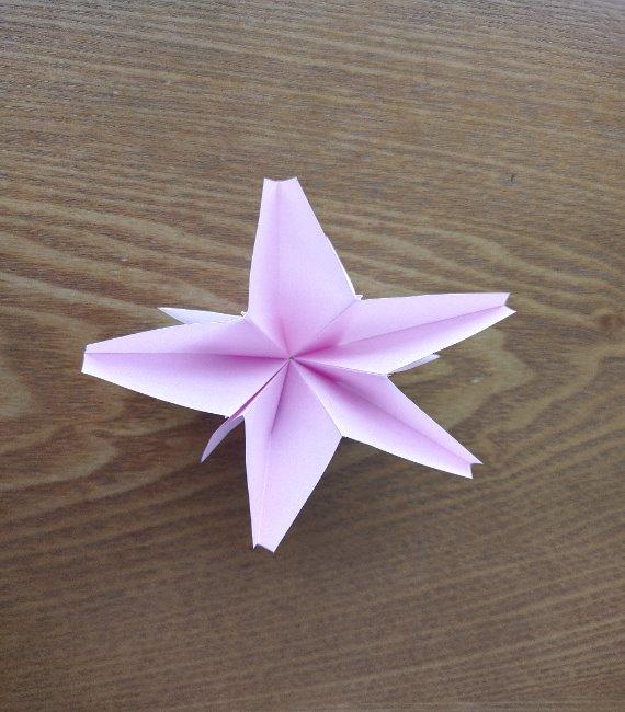 折り紙の桜 5枚でも簡単!お花の折り方切り方