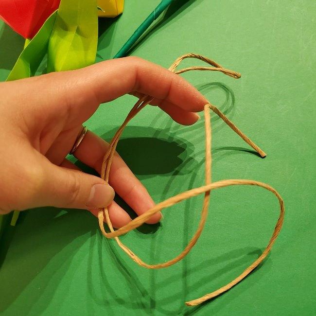 折り紙の花束(子供にも!)立体的なチューリップブーケの作り方 (3)