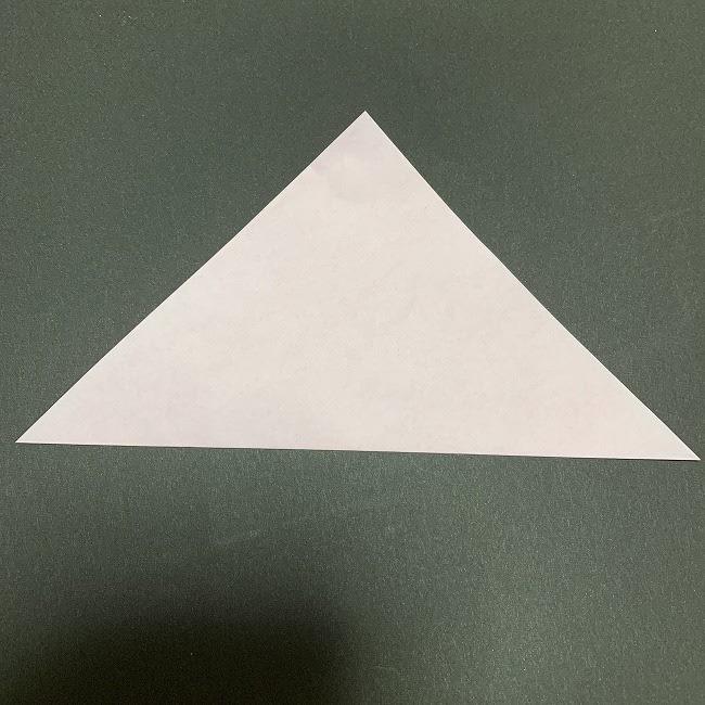 折り紙コースター(桜):折り方作り方 (1)