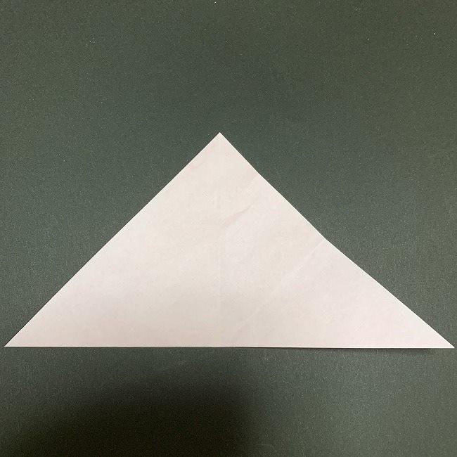 折り紙コースター(桜):折り方作り方 (5)
