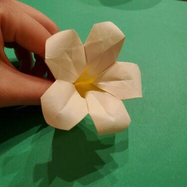 折り紙ツツジの折り方作り方★サツキ・つつじの花は立体的で簡単かわいい♪