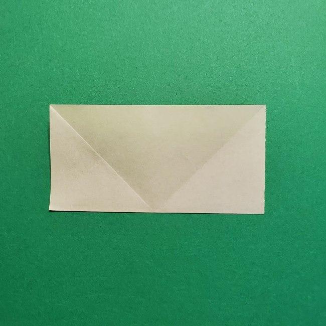 折り紙花リースの土台の作り方【葉っぱの壁飾り】 (6)