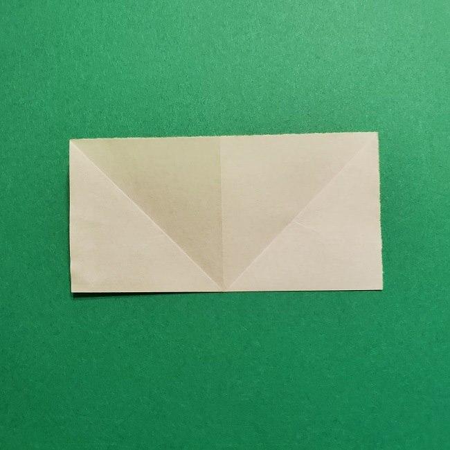 折り紙花リースの土台の作り方【葉っぱの壁飾り】 (8)