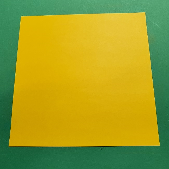 折り紙 つつじの折り方*用意するもの (1)