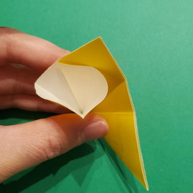 折り紙 チューリップのリースの作り方 (11)