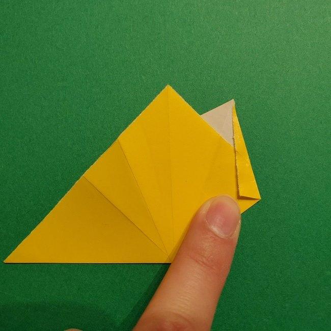 折り紙 チューリップのリースの作り方 (15)