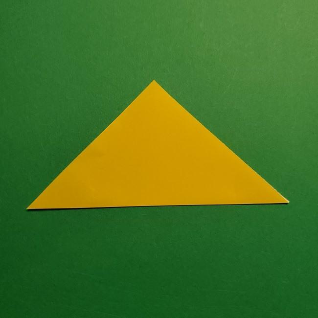 折り紙 チューリップのリースの作り方 (3)