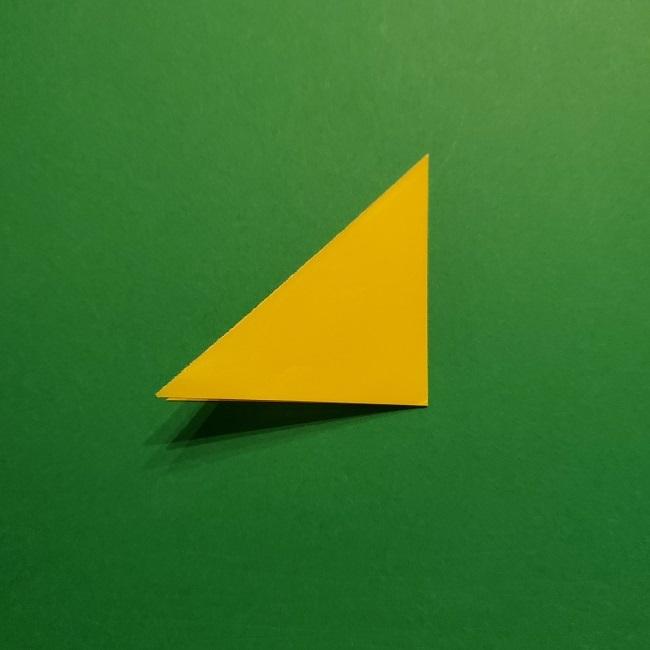 折り紙 チューリップのリースの作り方 (4)