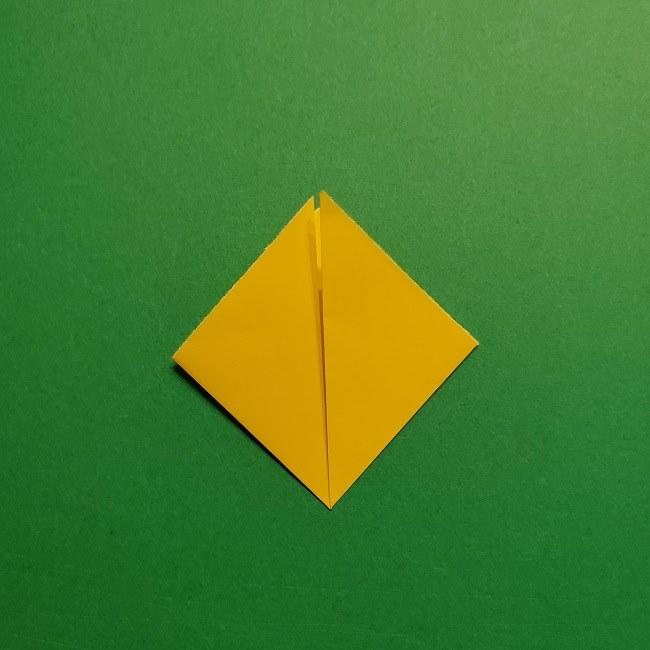 折り紙 チューリップのリースの作り方 (6)