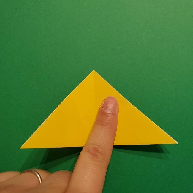 折り紙 チューリップのリースの作り方 (7)