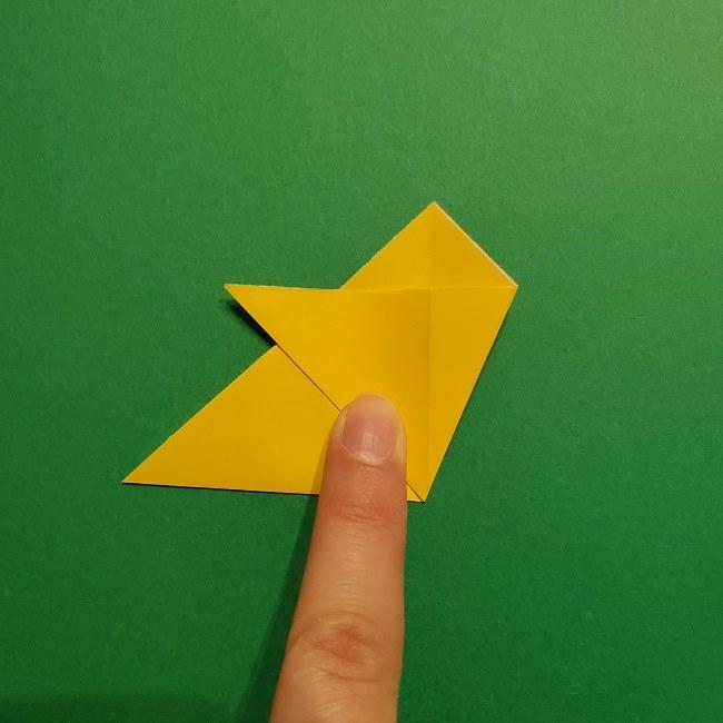 折り紙 チューリップのリースの作り方 (8)