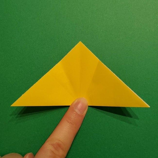 折り紙 チューリップのリースの作り方 (9)