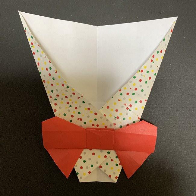 折り紙 チューリップの花束(平面)*作り方折り方 (29)