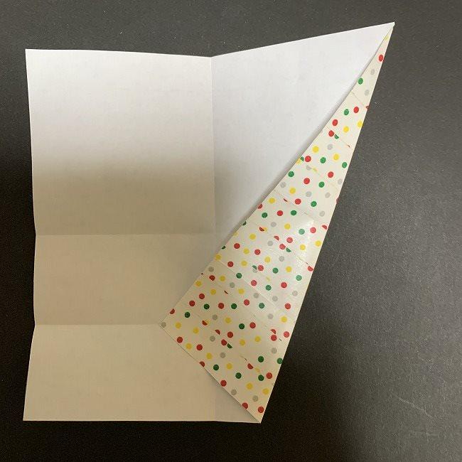 折り紙 チューリップの花束(平面)*作り方折り方 (7)