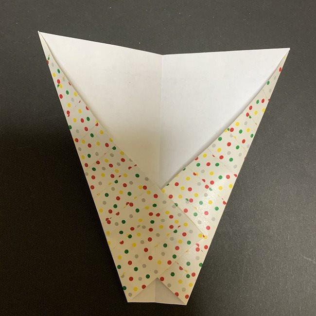 折り紙 チューリップの花束(平面)*作り方折り方 (8)