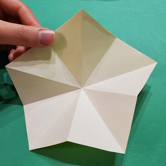 折り紙 ツツジの花の折り方作り方 (14)