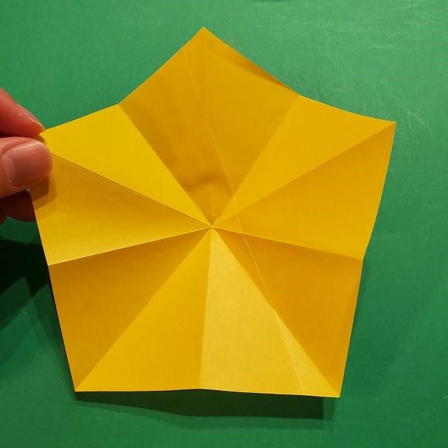 折り紙 ツツジの花の折り方作り方 (15)