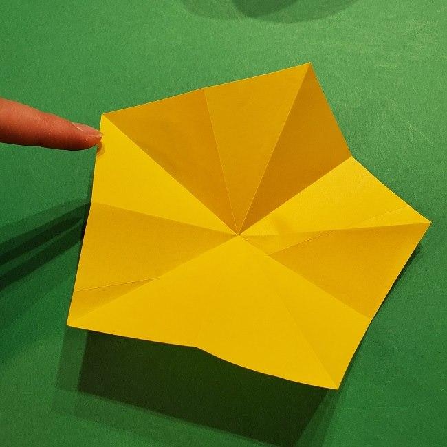 折り紙 ツツジの花の折り方作り方 (16)