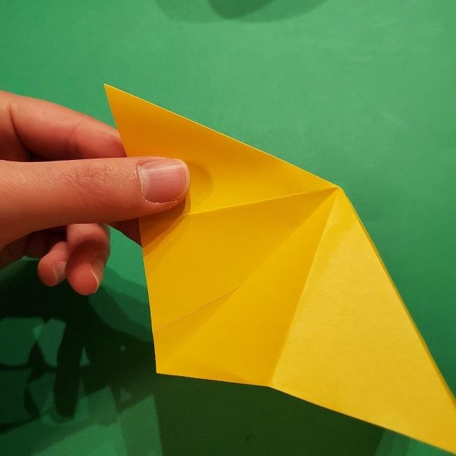 折り紙 ツツジの花の折り方作り方 (17)