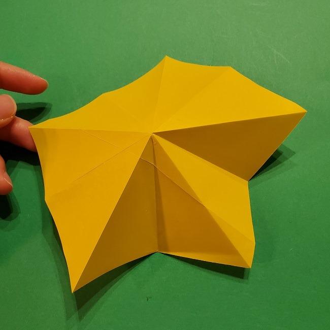 折り紙 ツツジの花の折り方作り方 (18)