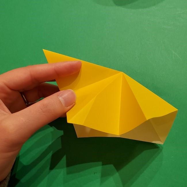 折り紙 ツツジの花の折り方作り方 (19)