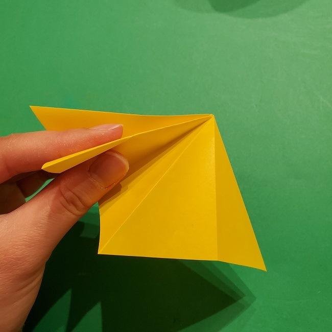 折り紙 ツツジの花の折り方作り方 (20)
