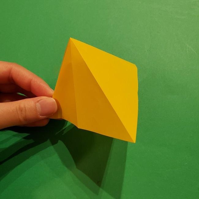 折り紙 ツツジの花の折り方作り方 (21)