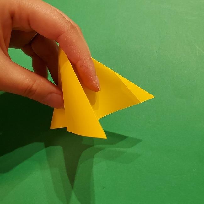 折り紙 ツツジの花の折り方作り方 (22)
