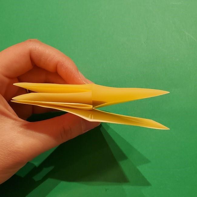 折り紙 ツツジの花の折り方作り方 (24)