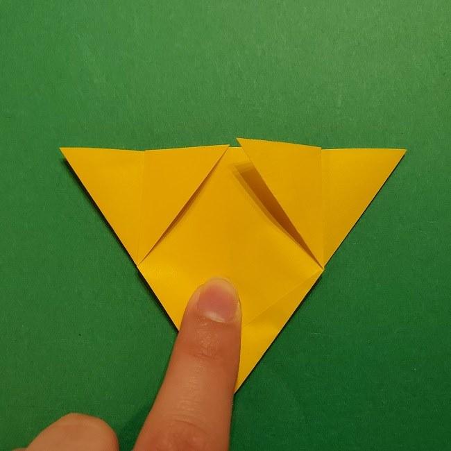 折り紙 ツツジの花の折り方作り方 (26)