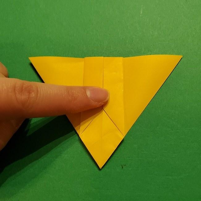 折り紙 ツツジの花の折り方作り方 (27)