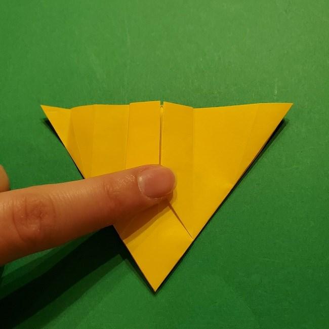 折り紙 ツツジの花の折り方作り方 (30)