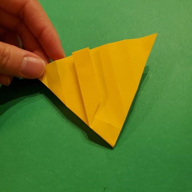 折り紙 ツツジの花の折り方作り方 (33)