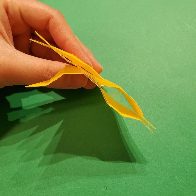 折り紙 ツツジの花の折り方作り方 (34)