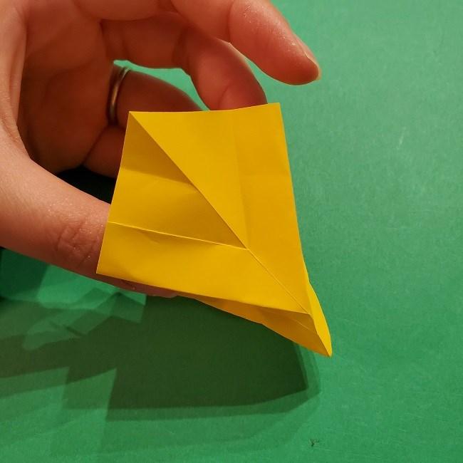 折り紙 ツツジの花の折り方作り方 (36)
