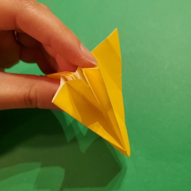折り紙 ツツジの花の折り方作り方 (37)