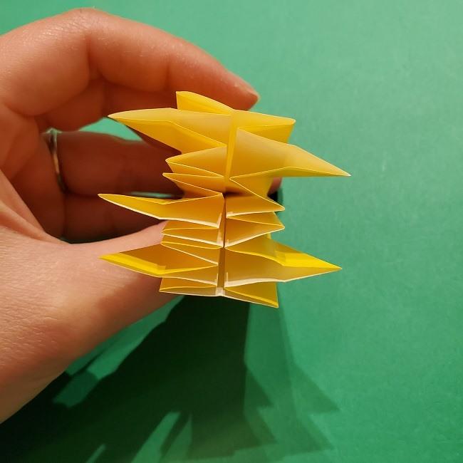折り紙 ツツジの花の折り方作り方 (39)