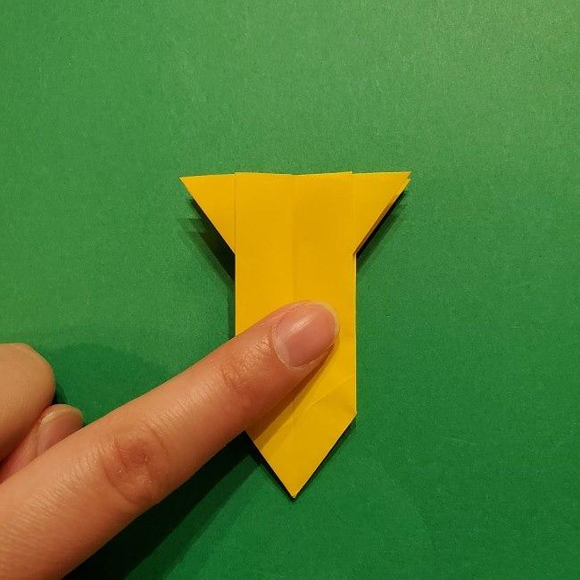 折り紙 ツツジの花の折り方作り方 (40)