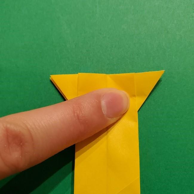 折り紙 ツツジの花の折り方作り方 (42)