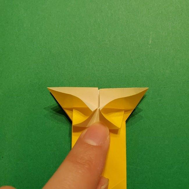 折り紙 ツツジの花の折り方作り方 (43)