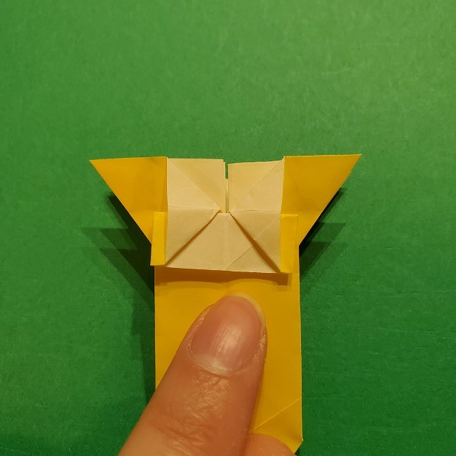 折り紙 ツツジの花の折り方作り方 (44)