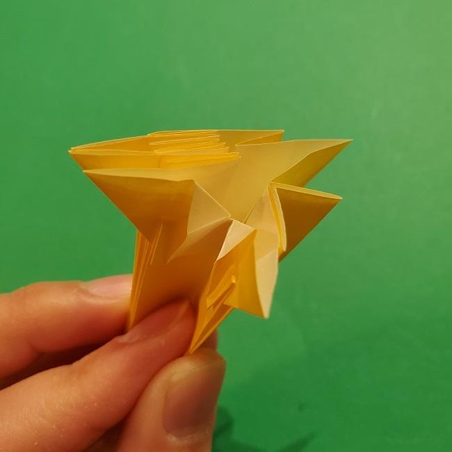 折り紙 ツツジの花の折り方作り方 (45)
