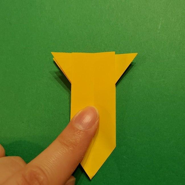 折り紙 ツツジの花の折り方作り方 (46)