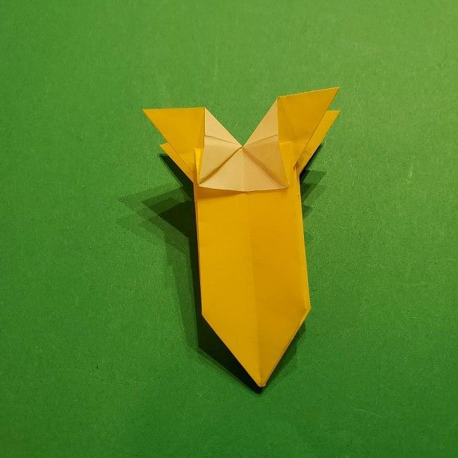 折り紙 ツツジの花の折り方作り方 (47)