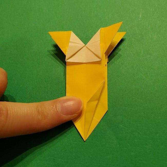 折り紙 ツツジの花の折り方作り方 (48)