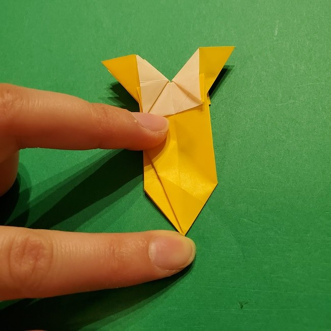 折り紙 ツツジの花の折り方作り方 (49)
