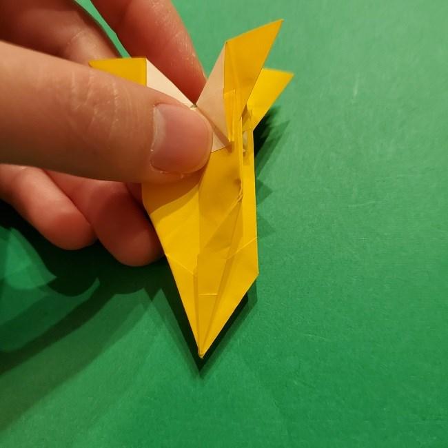 折り紙 ツツジの花の折り方作り方 (50)