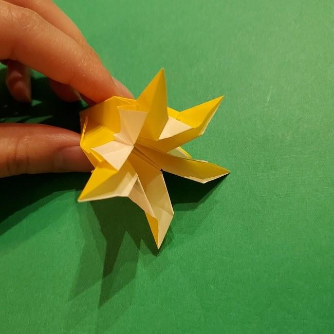 折り紙 ツツジの花の折り方作り方 (52)