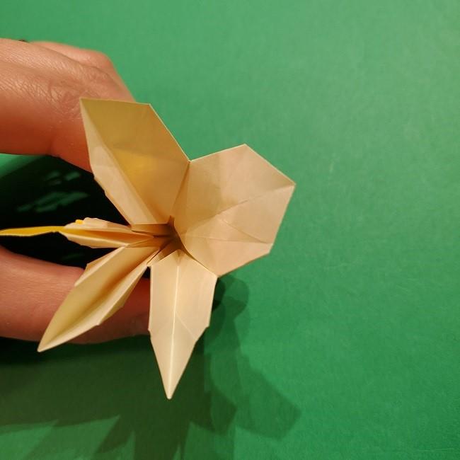 折り紙 ツツジの花の折り方作り方 (53)