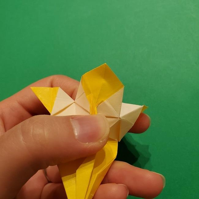 折り紙 ツツジの花の折り方作り方 (54)